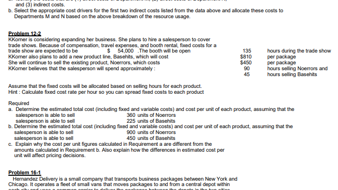 what are business cost drivers