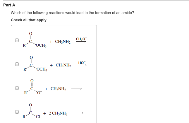 Ch3nh2 Reaction