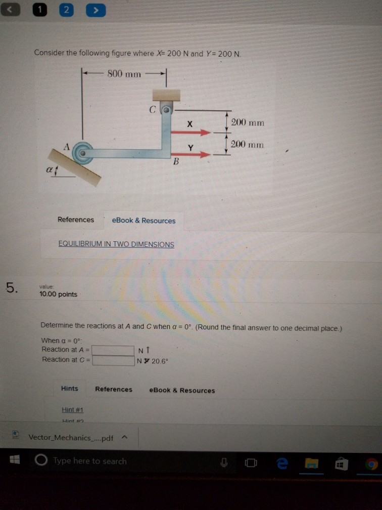 Mechanical engineering archive october 12 2017 chegg 2 consider the following figure where x 200 n and y 200 n 800 fandeluxe Gallery