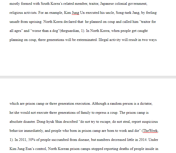 Thesis Essay Examples North Korea Is A Pain Of Neck In The World Meanwhile The World Is  Agreeing To Have A Peace North Korea Has Been Threatening Countries With  Serious  Essay Of Newspaper also Cause And Effect Essay Thesis Please Edit My Essay And Add Something To Make Bet  Cheggcom Thesis Statement For Persuasive Essay
