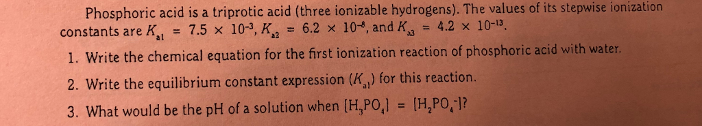 Solved Phenolphthalein Would Not Be An Appropriate Indica