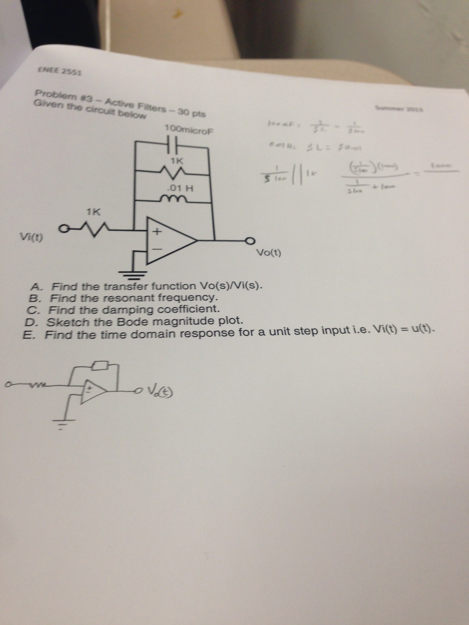 Solved Type Your Question Here What Is The Resonance Frequency Of Circuit T Cheggcom