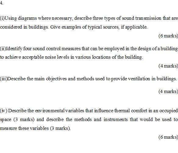 Solved: (i) Using Diagrams Where Necessary, Describe Three ...