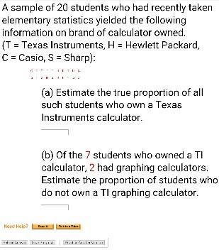Hp Vs Ti Calculators