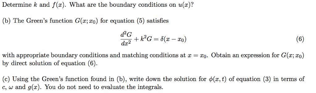 One dimensional wave equation examples