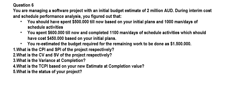 you are the manager of a variable hospital department and you just received your monthly budget resu Make me a project manager in 2018 ~ by duncan haughey are you embarking on your career or considering a career change plenty of people want to pursue a career in project management.