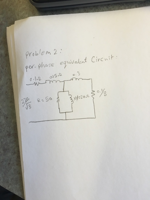 Solved: Problem 2) A 220 V, 8 Pole, 860 Rpm, 3-phase Induc ... on 110 220 motor wiring diagram, 480 volt transformer wiring diagram, electric motor wiring diagram, 3 phase transformer connection diagram,