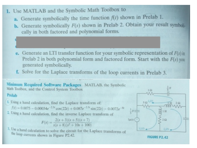 Solved Use Matlab And The Symbolic Math Toolbox To Genera