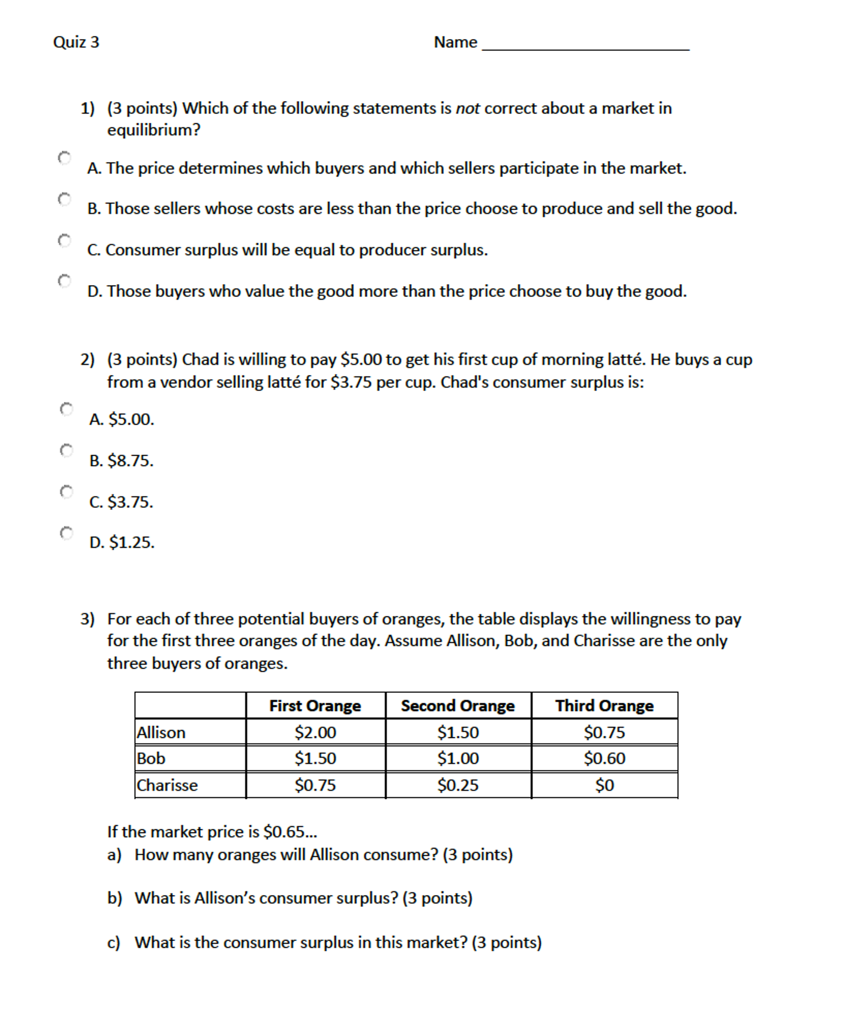 6a343432604 Solved: Which Of The Following Statements Is Not Correct A ...