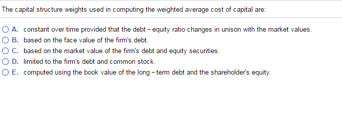 what would be the capital structure i e debt ratio of eskimo pie after its ipo if reynolds metals ac What would be the capital structure (i the debt ratio will be lowered the issuance of common share would enlarge total equity debt ratio) of eskimo pie after its ipo if reynolds metals accepts the two-step transaction proposed by wheat first.