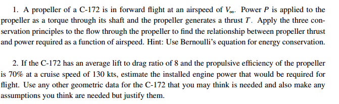 Propeller Lift Equation