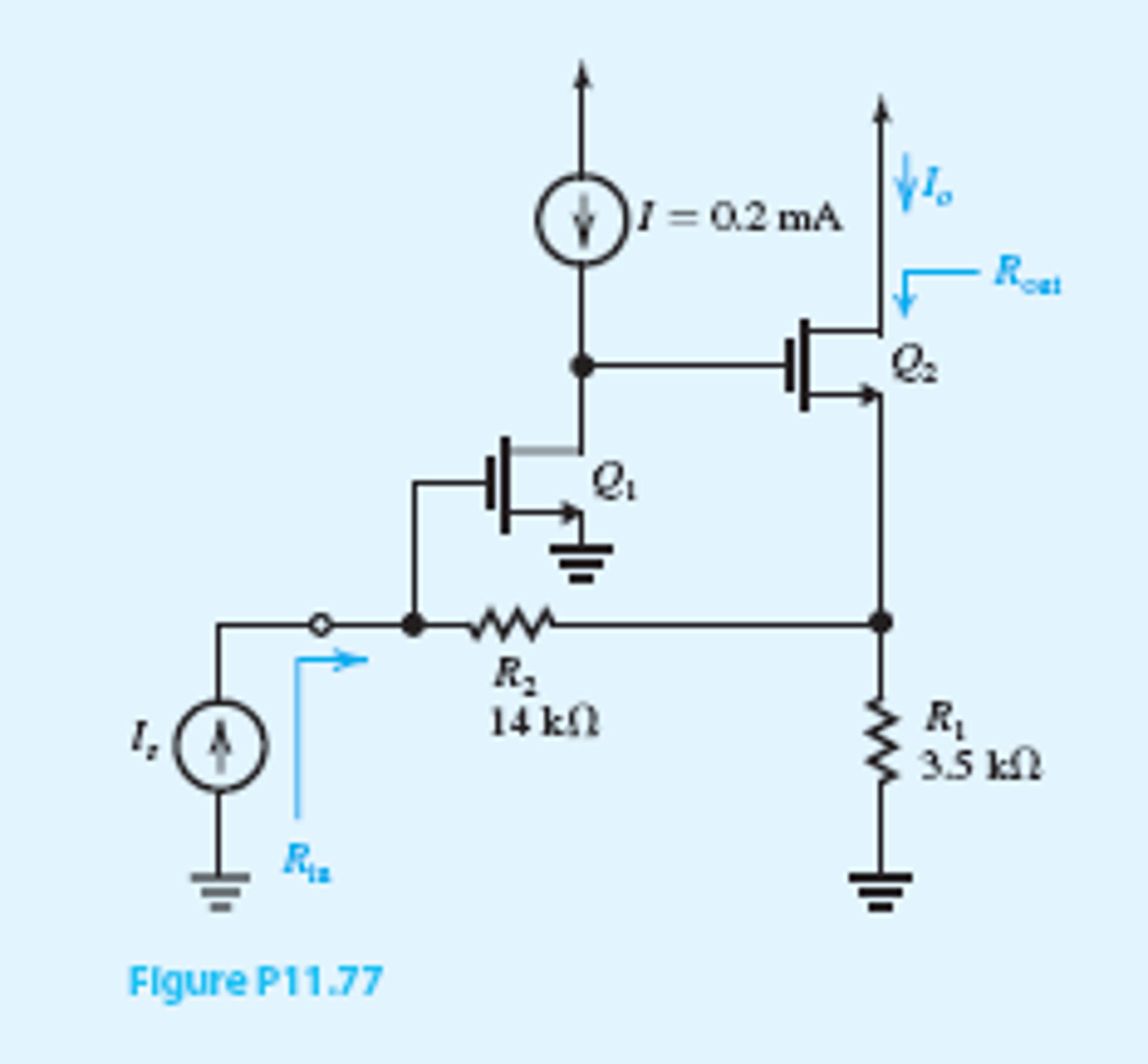 The Feedback Current Amplifier In Fig P1177 Util Transistor