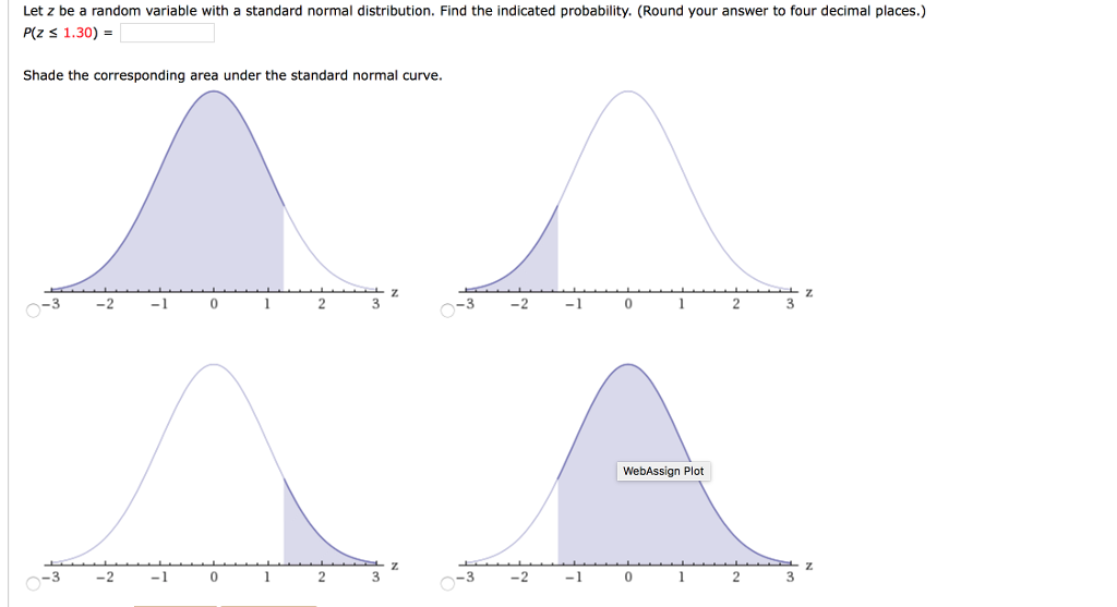 Solved: Letz Be A Random Variable With A Standard Normal D