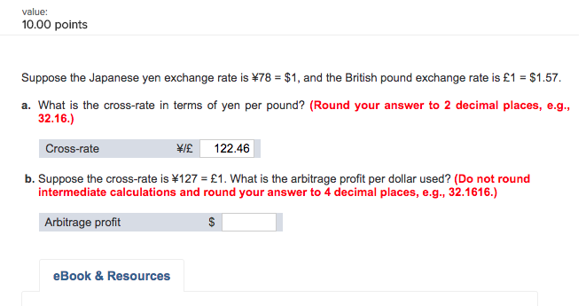 solved suppose the japanese yen exchange rate is 78 1 rh chegg com Exchange Rate Calculator Exchange Rate Calculator