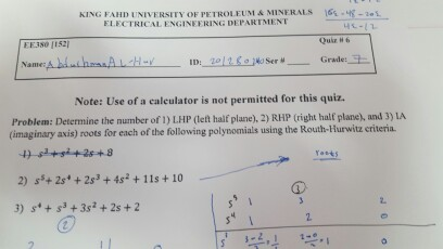 Determine the number of 1) LHP (tell hall plane).