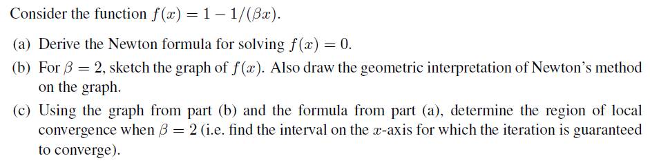 solved consider the function f x 1 1 82 a derive