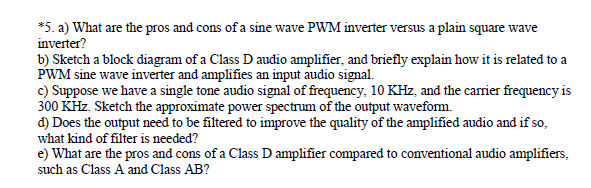 What Are The Pros And Cons Of A Sine Wave PWM Inve
