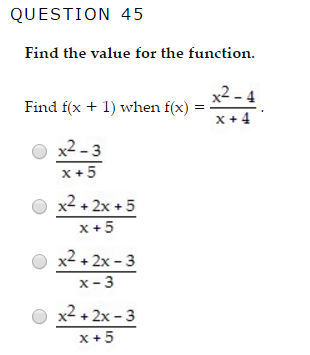 Solved: QUESTION 42 Solve The System Of Equations By Subst