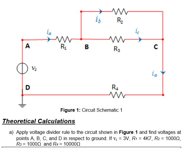 Astonishing Solved Lb R3 Figure 1 Circuit Schematic 1 Theoretical Ca Wiring Cloud Hisonuggs Outletorg