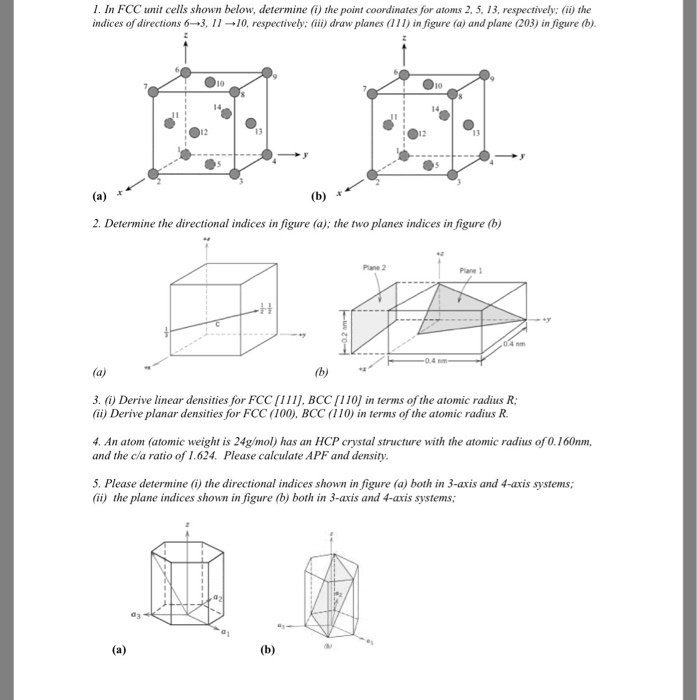 fcc bcc hcp crystal structure pdf