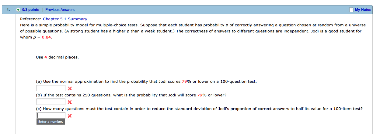 Solved: Here Is A Simple Probability Model For Multiple-ch