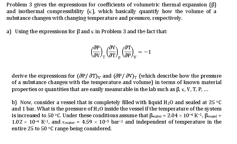 Thermal expansion example problems with solutions.