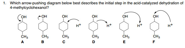 dehydration of 2 methylcyclohexanol formal report Title: dehydration of an alcohol: cyclohexene from cyclohexanol objective: to produce cyclohexene through the acid catalyzed elimination of water from cyclohexanol to understand mechanism involved in the reaction to learn the technique of distillation.