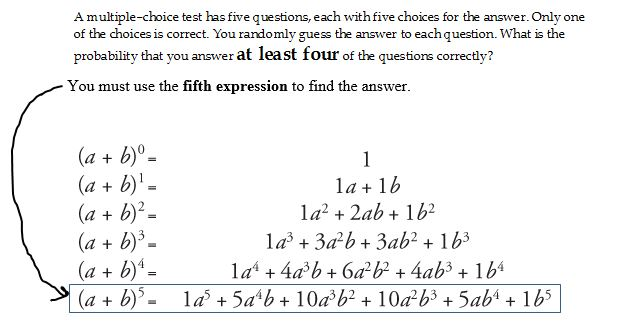 Solved: A Multiple-choice Test Has Five Questions, Each Wi