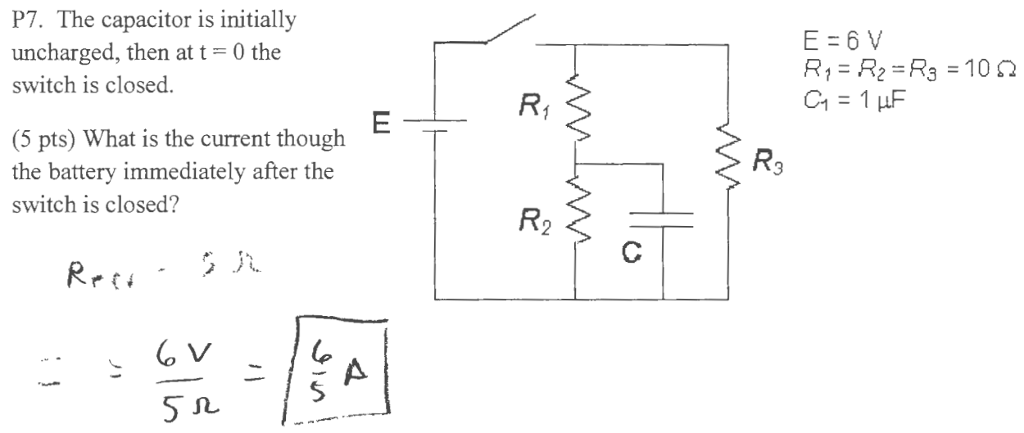 Solved: Note: General Physics, Electric Circuits  Please S