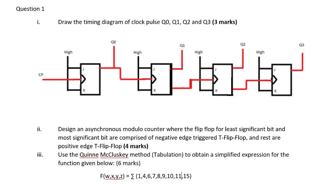 media%2Fd0a%2Fd0a4db9f 62f3 4341 af77 bc3f2b1fb0d9%2Fphp4z3meE solved draw the timing diagram of clock pulse q0, q1, q2