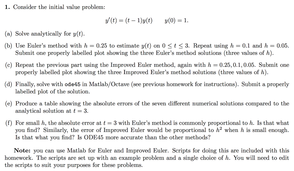 Advanced math archive october 04 2017 chegg 0 answers 1 consider the initial value problem yt t fandeluxe Choice Image