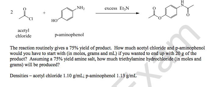 Solved: The Reaction Routinely Gives A 75% Yield Of Produc