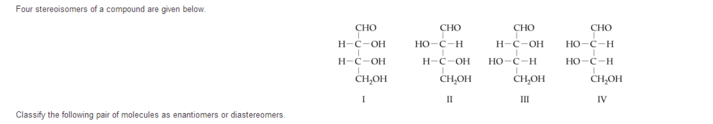 how to find stereoisomers of a molecule