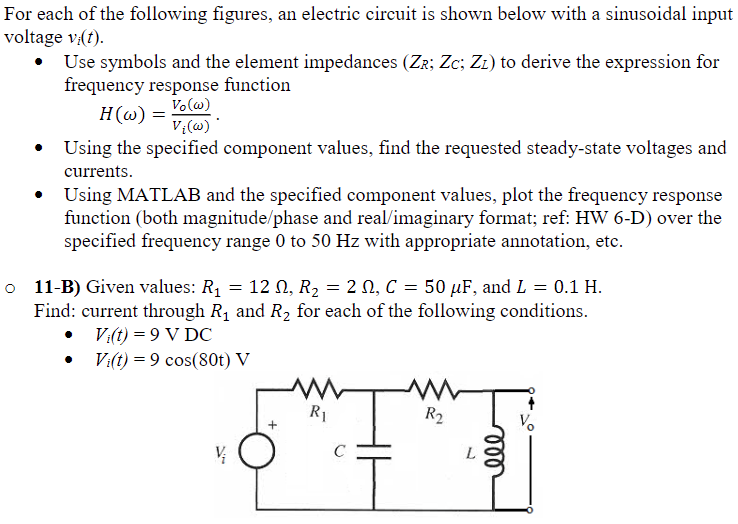Solved: For Each Of The Following Figures, An Electric Cir ...