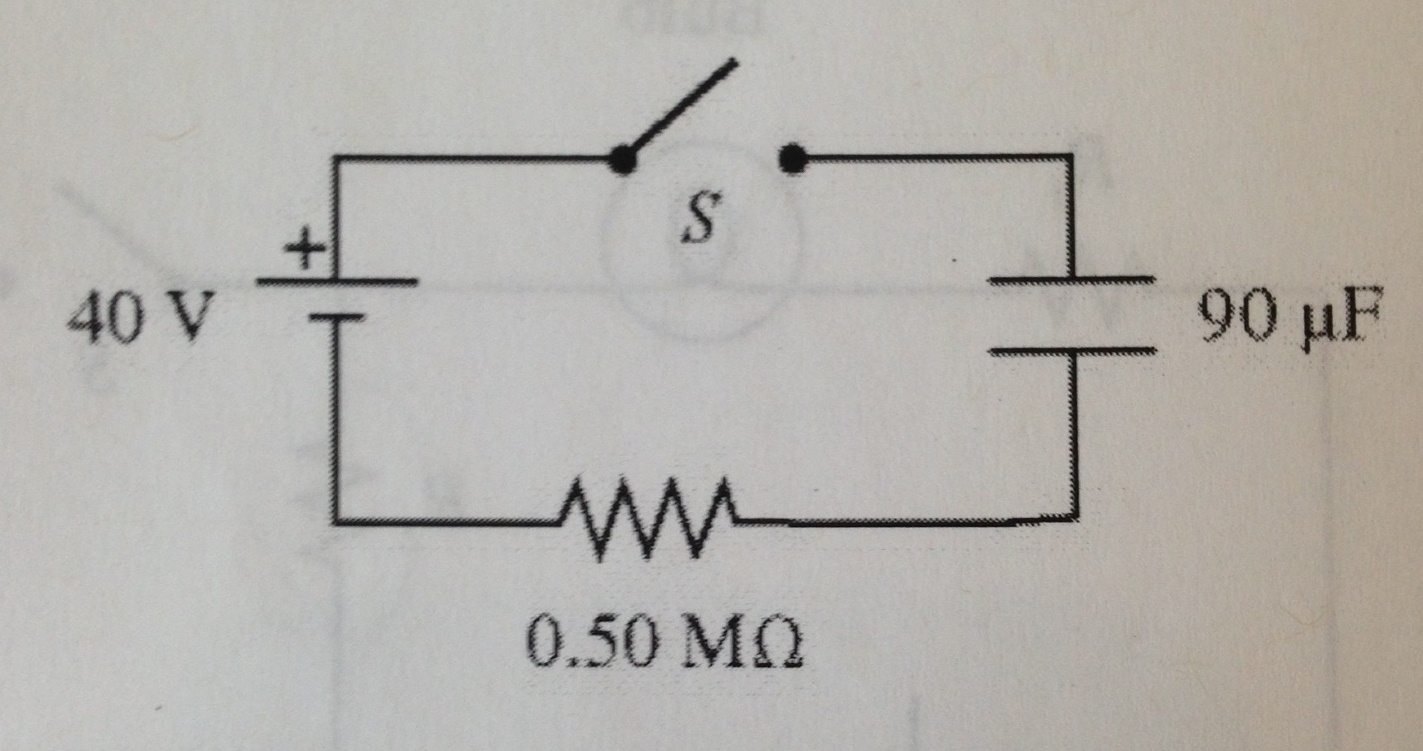 Solved: For The Circuit Shown, The Switch S Is Initially O ...