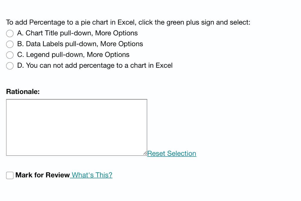 Pie Of Pie Chart Excel