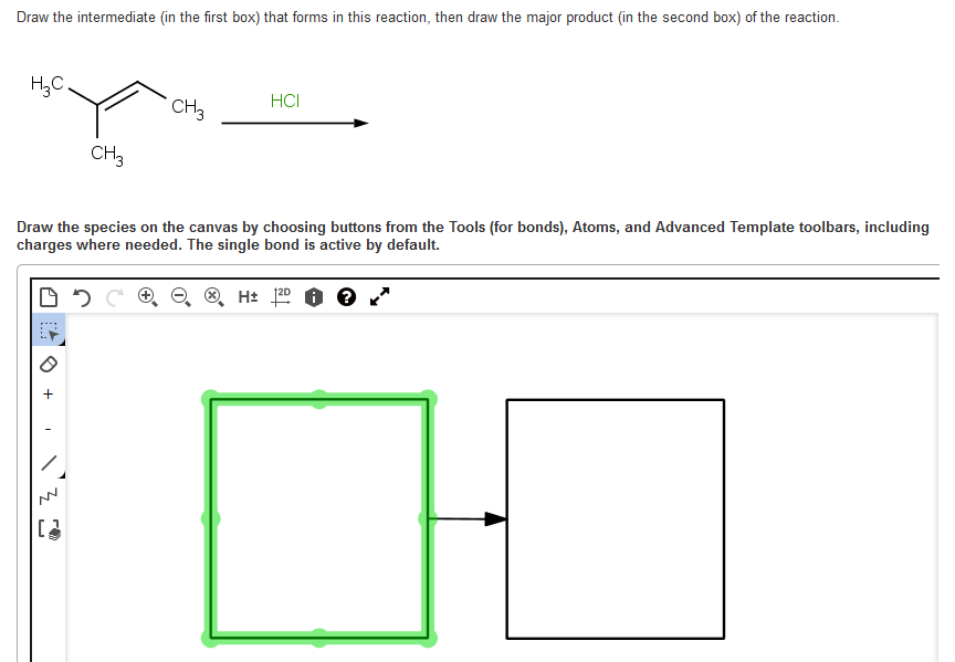 Solved: Draw The Intermediate (in The First Box) That Form ...