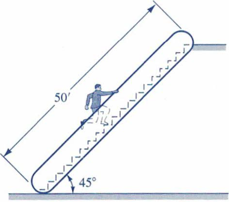 Solved All Of The Questions For This Are For An Escalator