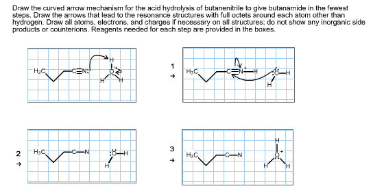 Solved: Draw The Curved Arrow Mechanism For The Acid Hydro