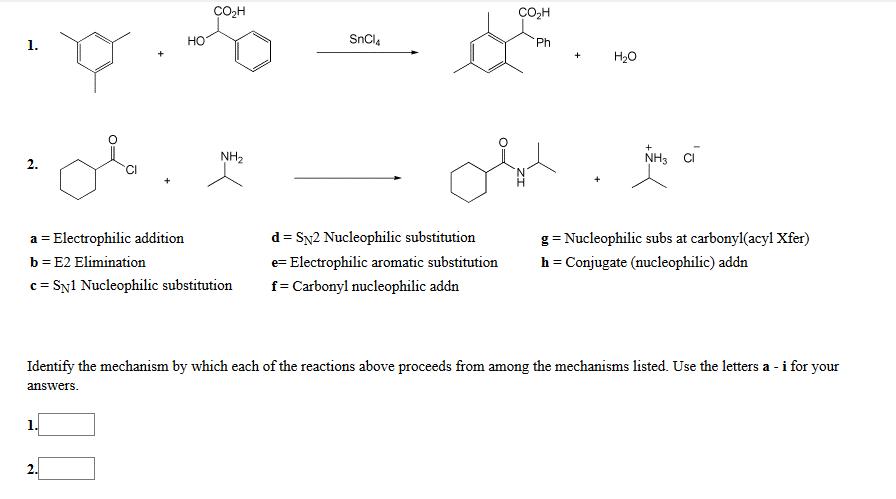 electrophilic addition