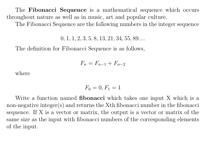 solved the fibonacci sequence is a mathematical sequence