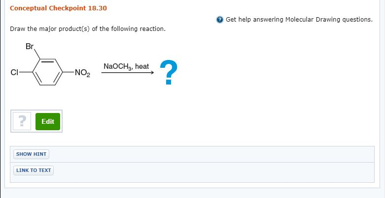 Solved: Conceptual Checkpoint 18 30 Get Help Answering Mol