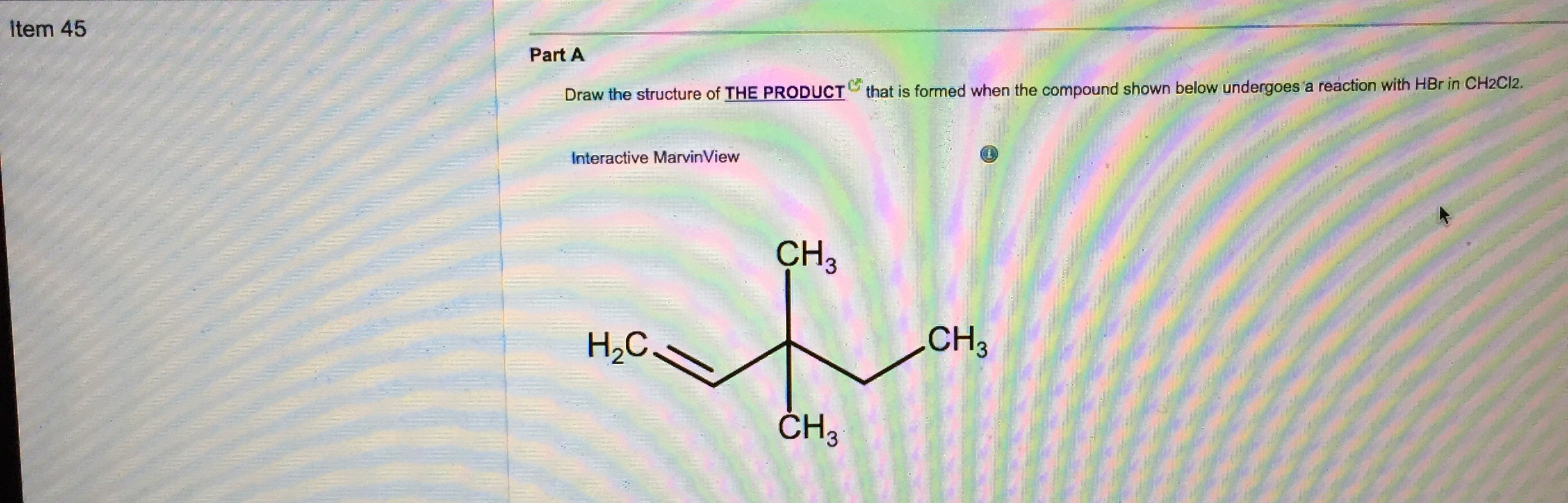 Solved: ORGANIC CHEMISTRY QUESTION PLEASE HELP  WILL RATEI