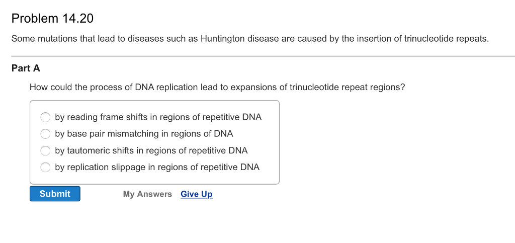 Solved: Why Are Frameshift Mutations Likely To Be More Det ...