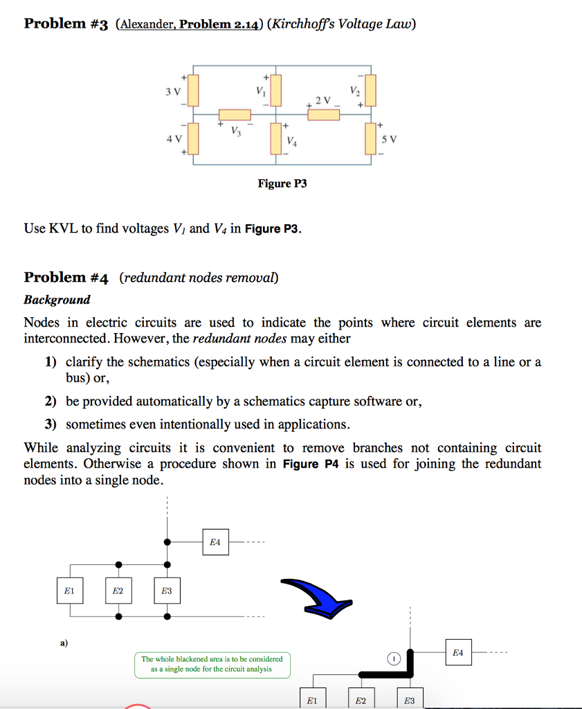 Solved Problem 1 Alexander 29 Kirchhoffs C Current Law See More Show Transcribed Image Text 4a L A 5 In 6 7 2 Figure P1 Find I I2