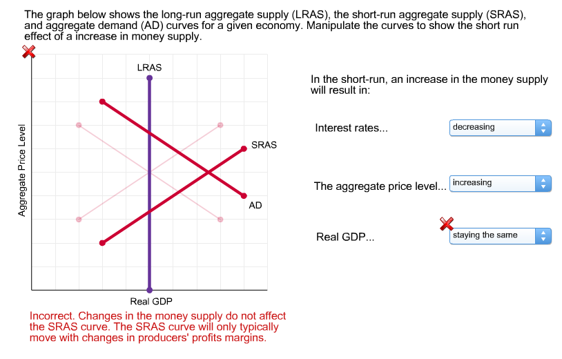 what effect would a reduction in personal income tax have in aggregate demand and aggregate supply What effects would each of the following have on aggregate demand or aggregate supply, other things equal in each case use a diagram to show the expected effects on the equilibrium price level and the level of real output, assuming that the price level is flexible both upward and downward.