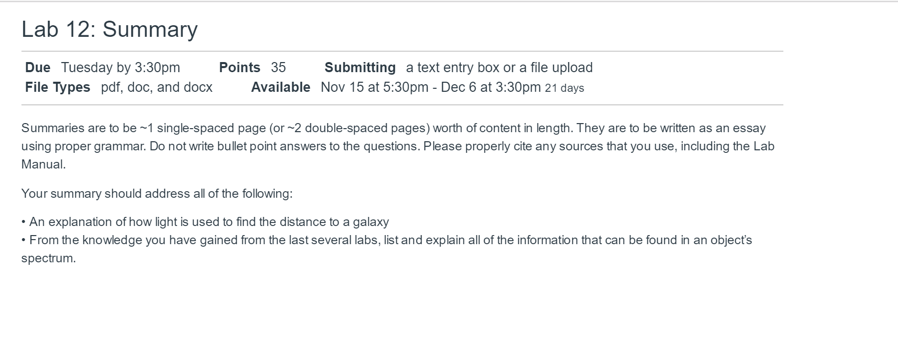 Solved summaries are to be 1 single spaced page or 2 d question summaries are to be 1 single spaced page or 2 double spaced pages worth of content in length ccuart Images