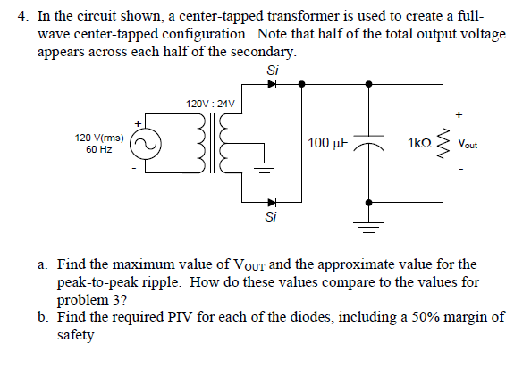 media%2Fd5f%2Fd5fbcc8c 5851 401f a376 adb7008dfc75%2FphpXpaIrR solved a center tapped transformer is u wave center tappe