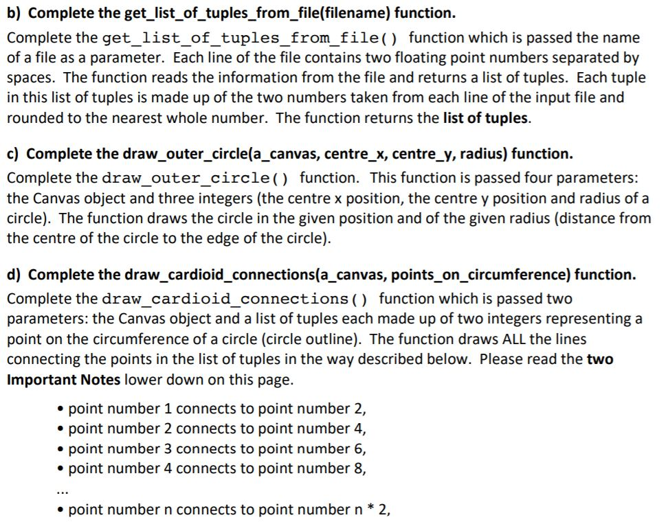 Solved: This Python 3 6 4 Program Reads Points From A Text