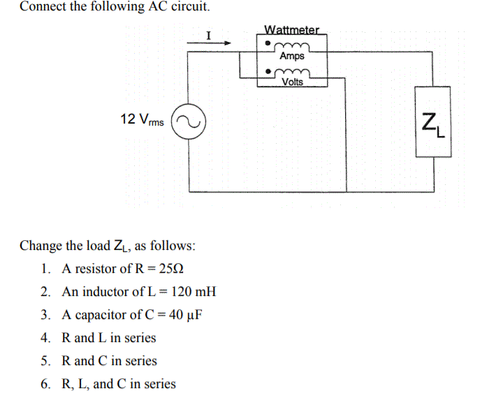 Solved Need Help Calculating The Impedencepower Factor